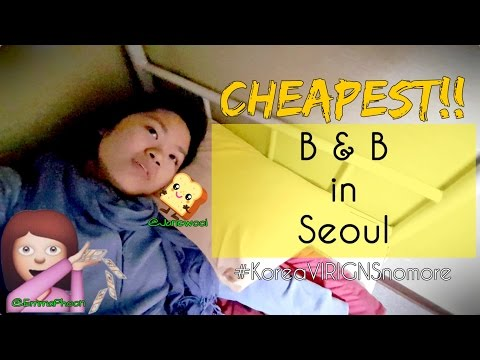 WHERE TO STAY IN SEOUL KOREA?! [RM50/night W BREAKFAST!]