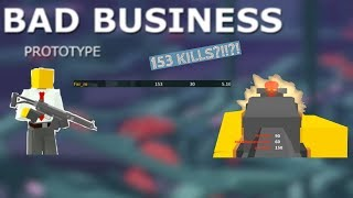(100 SUB SPECIAL+ 153 KILLS ON NEW ROBLOX FPS GAME?!) Bad Business Prototype Gameplay