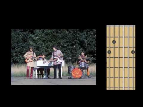 Beatles - Let it be (guitar chords) how to play