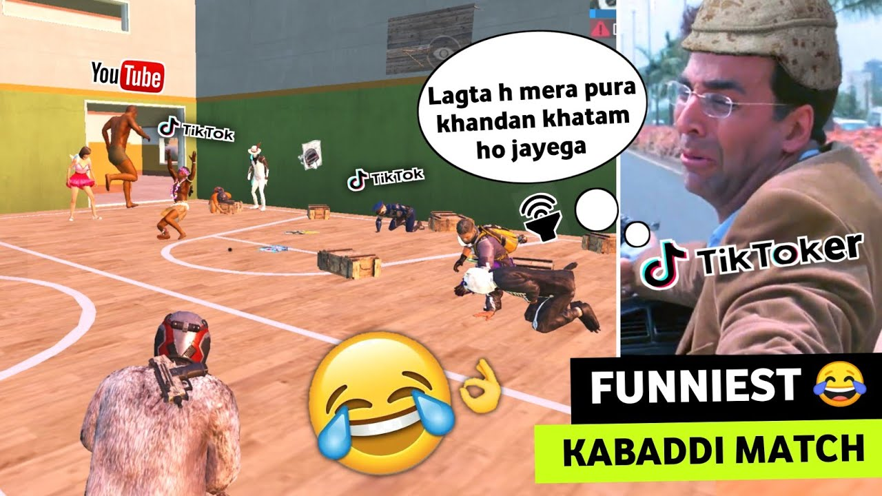 YOU'LL DEFINITELY LAUGH 😂🔥AFTER WATCHING THIS KABADDI MATCH IN PUBG MOBILE