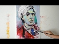 Painting Andy Warhol