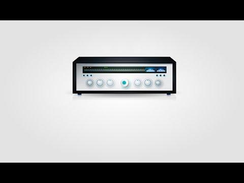 Speed art - Radio (mesh) in Adobe Illustrator