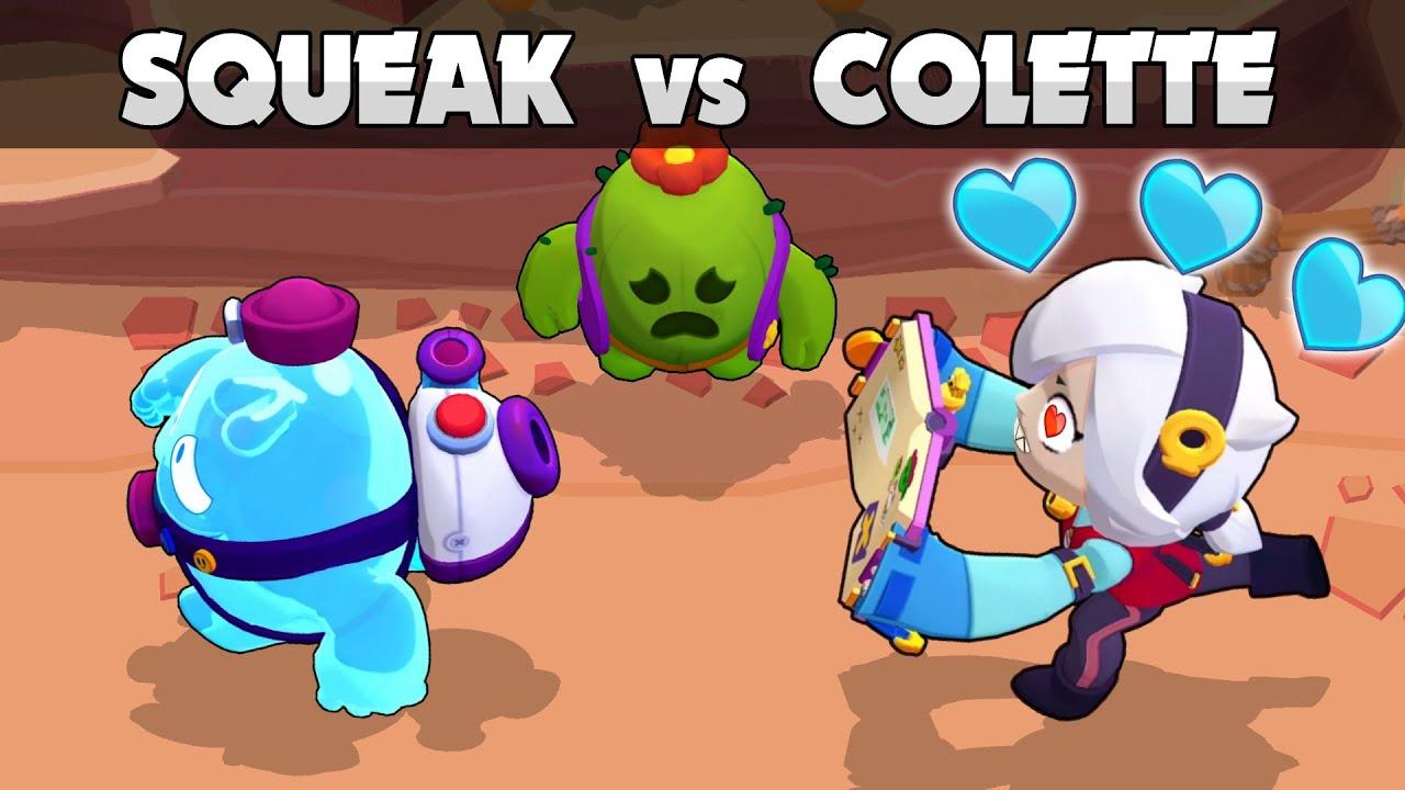 💙 SQUEAK vs COLETTE 💙 1vs1 💙 Kamikaze