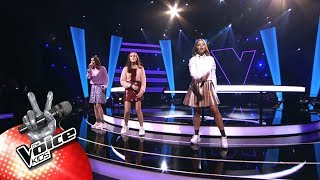 Noor, Marilys & Hanne - 'Cut Loose' | The Battles | The Voice Kids | VTM