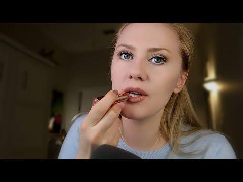 Whispered Make-up During The Rain 💄⛈️ ASMR