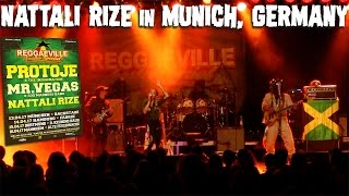 Nattali Rize - Heart of A Lion in Munich, Germany @Reggaeville Easter Special - April 13th 2017