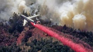 Crews Wage Fierce Ground, Aerial Battle to Contain Uncontrolled Glass Fire in Napa Valley