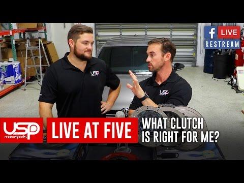 #LiveAt5 | Clutches + Such | USP Motorsports