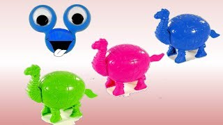 Learn Colors With Dinosaur and Surprise Eggs For Kids | Learn Colours With Animals for Children