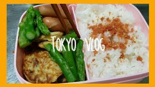 일본 직장인 일상브이로그 / 점심 도시락 준비 / 식비…