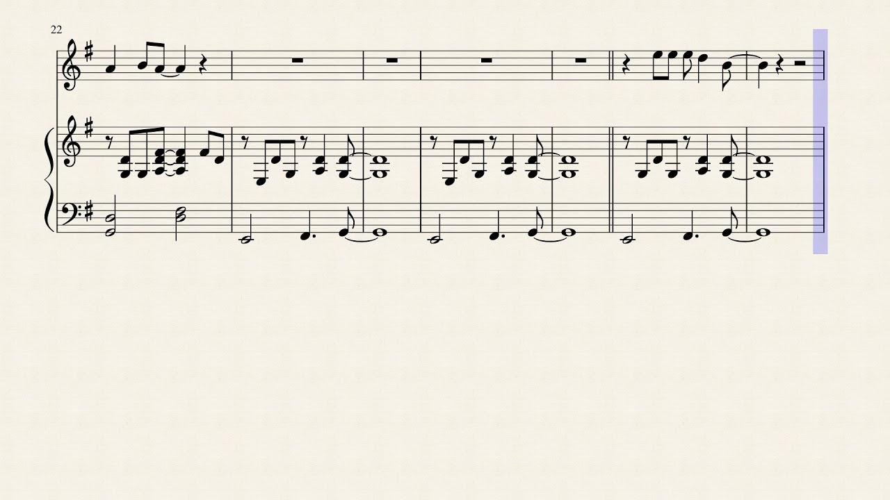 Lady Gaga & Bradley Cooper - Shallow - Flute Sheet Music