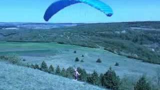 SANTENAY (cote d'or) parachute aux trois croix