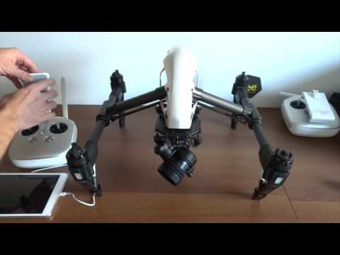 DJI INSPIRE PRO X5R RAW - Tutorial drone Portugues Brasil beedrones unboxing review