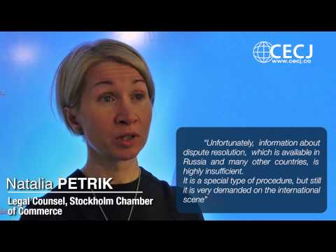 Natalia PETRIK, Legal Counsel, Stockholm Chamber of Commerce