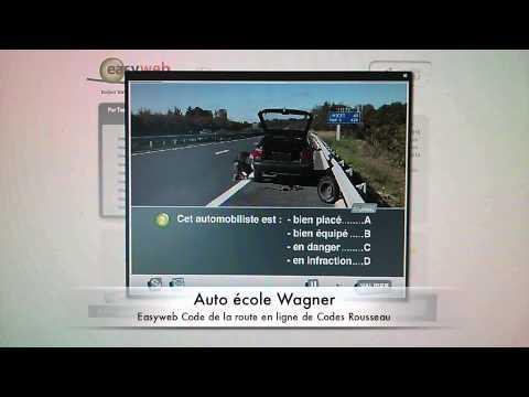 easyweb code de la route en ligne youtube