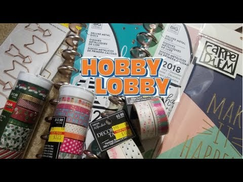 Huge! Hobby Lobby Clearance Haul | Part 1 - Planner Supply & Papercraft