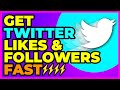 How to Get Twitter Followers & Likes