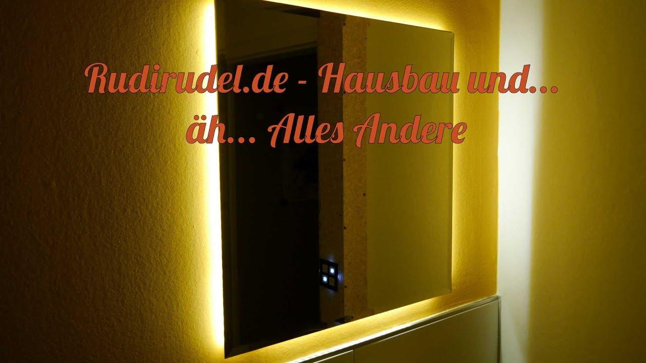 Badezimmerspiegel Mit Led Stripes Rudirudel De Youtube