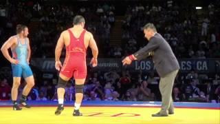 86 KG Clayton Foster USA vs  Ehsan Lashgari Iran