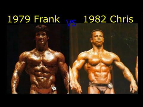 1979 Frank Zane vs 1982 Chris Dickerson