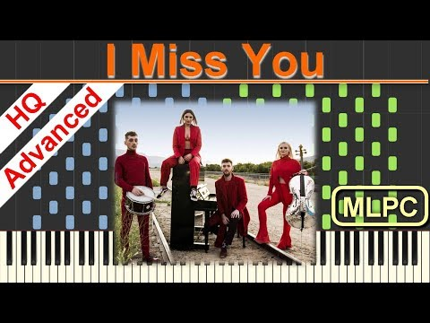 Clean Bandit feat. Julia Michaels - I Miss You I Piano Tutorial & Sheets by MLPC