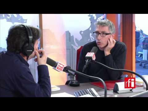 El escritor y cineasta español David Trueba entrevistado por Jordi Batallé en RFI