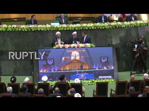 Iran: Rouhani warns US against violating nuclear deal during swearing in ceremony