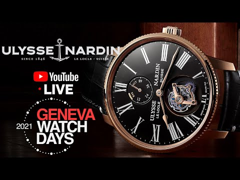 LIVE: @Ulysse Nardin Marine Torpilleur 2021 Novelties & More Geneva Watch Days 2021
