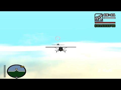 GTA San Andreas - Freefall - EASY WAY  (HD)