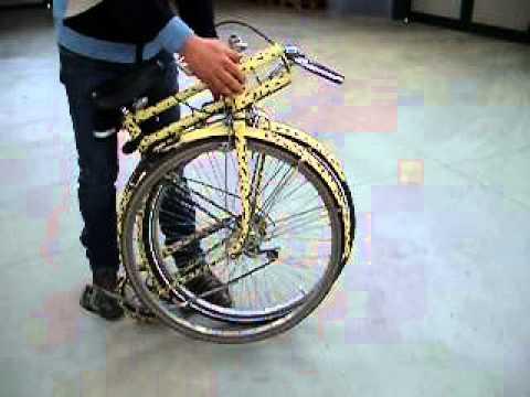 Bicicletta pieghevole usata youtube for Bici pieghevole elettrica usata