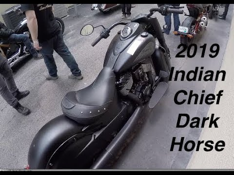 2019 Indian Chief Dark Horse First Ride   REVIEW