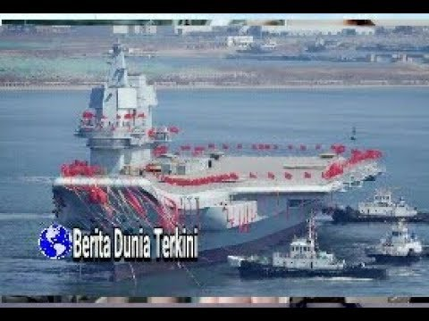 Kapal Induk Buatan Sendiri , China Siap Saingi ....