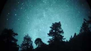 Milky Way Pan @ 1X via White Phosphor Night Vision in Real Time