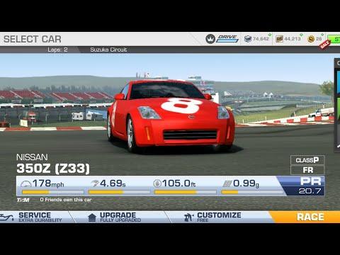 Real Racing 3 NISSAN  350Z (Z33) National Hockenheimring, Germany