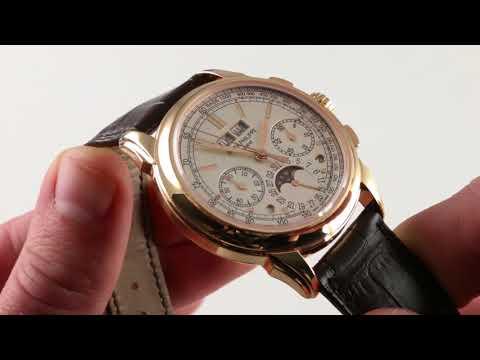 Patek Philippe Grand Complication 5270R-001 Luxury Watch Reviews