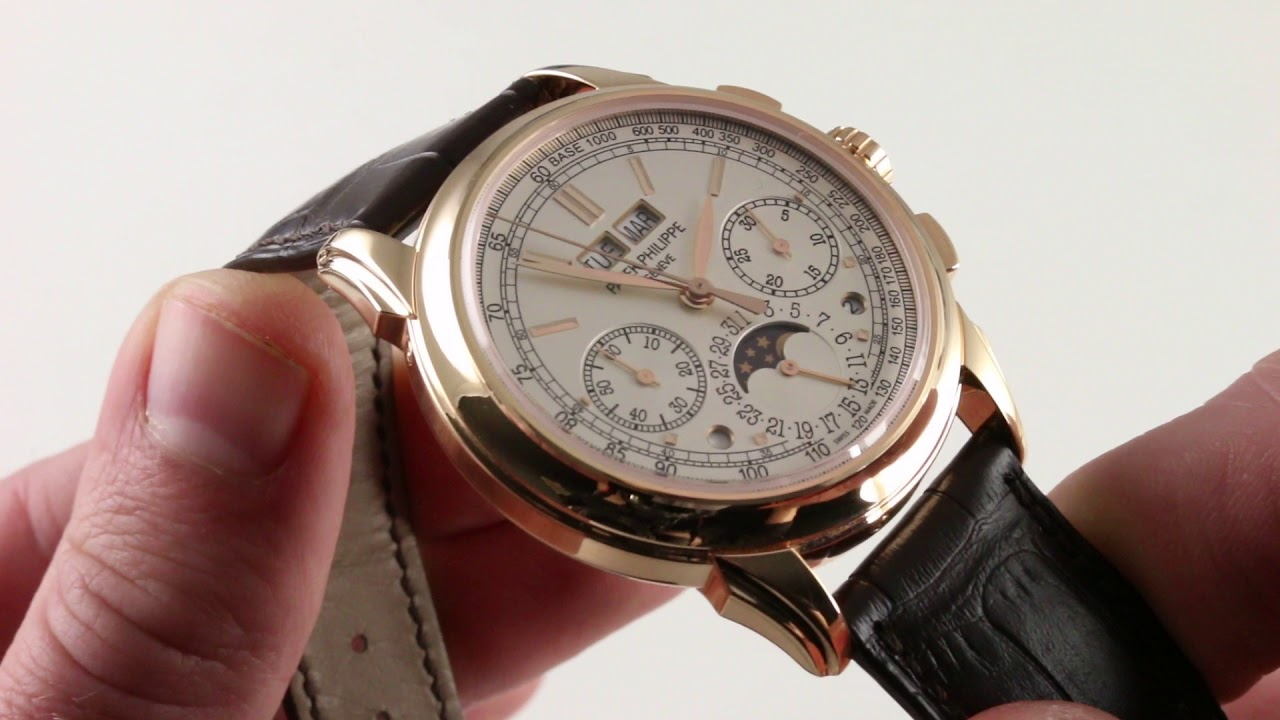 f3fa3335aab Patek Philippe Grand Complication 5270R-001 Luxury Watch Reviews ...