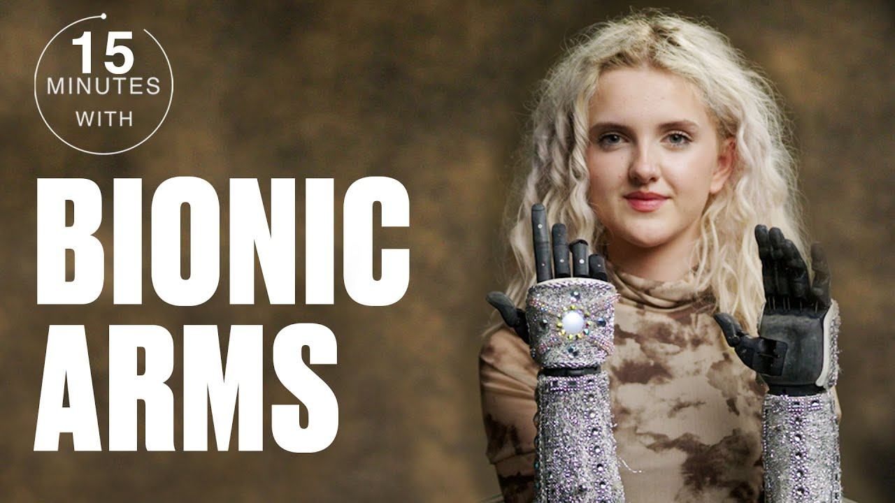 Teen Amputee On How Her Bionic Arms Changed Her Life | Mins With | @LADbible TV