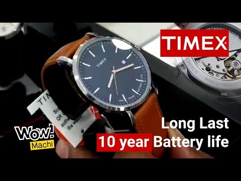 Best Budget Timex Watches - Long Last 10 Year Battery Life | Wow Machi