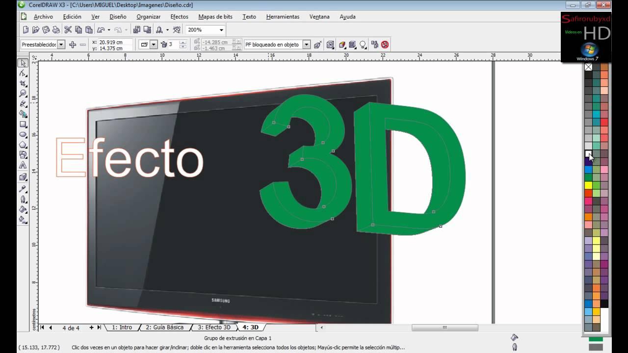 Dise o grafico curso en espa ol creando objetos 3d en for Diseno cocinas 3d gratis espanol