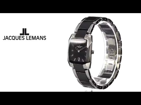 Jacques Lemans Women's 1-1754A Dublin Analog Display Quartz Multi-Color Watch