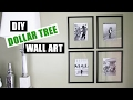 DOLLAR TREE DIY Floating Frame Art | Dollar Store DIY Gallery Wall Art | Cheap DIY Wall Art Decor