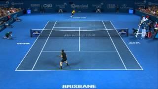Andy Murray v John Millman - Highlights Men's Singles Round 2: Brisbane International 2013