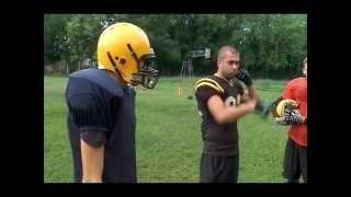 «Краснодарские бизоны» играют в американский футбол