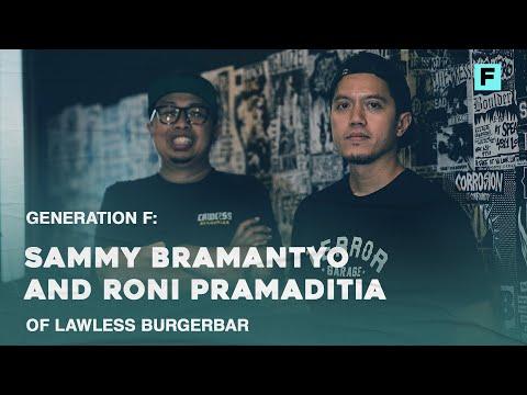 Generation F: Sammy Bramantyo and Roni Pramaditia of Lawless Burgerbar