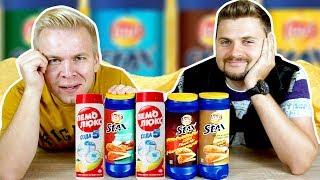 Дикие вкусы Lays Stax из Америки / Вкус картофельной кожуры