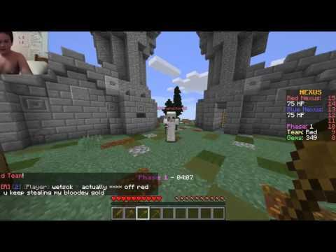 Minecraft nexus wars on mineheroes