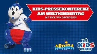Die Kids-PK am Weltkindertag mit Rick van Drongelen | präsentiert von Arriba