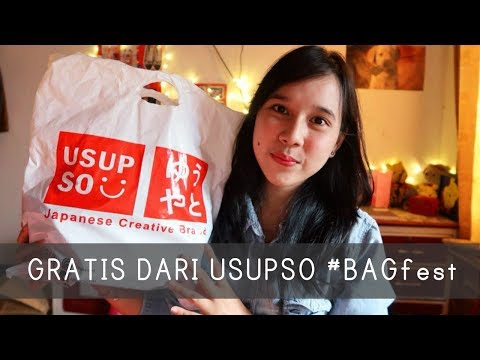 MiniHaul : Sling Bag Lucu #BAGfest USUPSO | ada GRATIS produk juga..