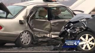 Girl, 3, paralyzed after icy crash on Rankin Bridge
