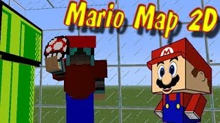 Наказали Дракона!  Супер Марио! 2D Карта!